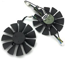 Z.N.Z A Pair 87MM Cooler Fan For ASUS GTX1060 1070 Ti RX 470 570 580 Graphics Ca