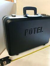 More details for black lockable equipment case / metal carry case / tools / brief case 48x32x15