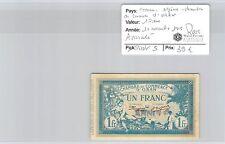 CHAMBRE DE COMMERCE ORAN - BILLET DE 1 FRANC 10-11-1915 ANNULE RARE!!!!