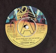 "Stephanie Mills - Never Knew Love Like This Before 7"" Single 1980"