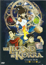 Avatar The Legend Of Korra Book 1 - 4 Complete ENGLISH Series - BRAND NEW