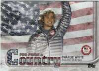 2018 US Winter Olympics For Pride and Country #PAC-CW Charlie White