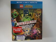 LEGO DC Super Heroes: Justice League (Blu-ray/DVD, Digital HD) NEW w/slipcover