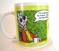Maxine Cup Mug Not Grouchy By Nature Hallmark Breakfast in Bed