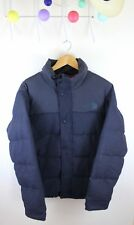 The North Face Tweed Nuptse Heights Jacket Blue Wool Down S Camo CX54 1992
