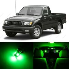 9 x Green LED Interior Lights Package For 1995 - 2004 Toyota Tacoma + PRY TOOL