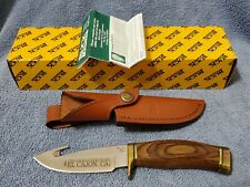 Buck Knife #B191-LSP-0 Zipper Last Production Year Fixed Blade Knife New in Box