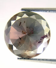 2.83TCW 10.3 MM Gray color Round Rose Cut African Antique Loose Natural Diamond