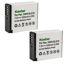 Kastar DMW-BLG10 DMW-BLE9 Battery for Panasonic Lumix DMC-LX100 DMC- GF6 GX7 GF5
