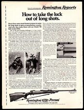 1972 REMINGTON Model 700 BDL RIFLE AD Advertising