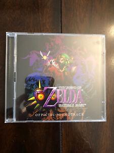 Legend Of Zelda Majora's Mask CD Soundtrack Club Nintendo Exclusive