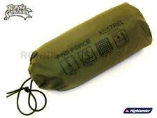 Highlander Pro Force Waterproof Ripstop Kestrel Bivi Bag and Sack Olive Green
