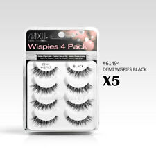 (5 pack) Ardell False Eyelashes MultiPack Demi Wispies Black (20 Pairs) #61494