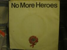 "THE STRANGLERS No More Heroes/In The Shadows 7"" 1977 United Artists freeUKpost"