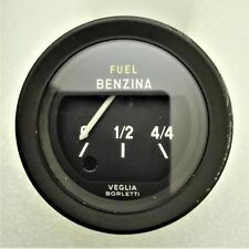 Manometro indicatore benzina VEGLIA BORLETTI FIAT 124 SPIDER USATO ORIGINALE