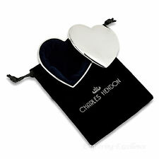 Personalised Heart Trinket/Jewellery Box Ladies Bridesmaid Gift FREE Engraving