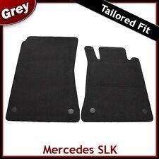 Mercedes SLK R171 2004 - 2011 Fully Tailored Fitted Carpet Car Mats GREY