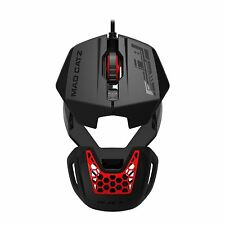 Madcatz R.A.T. RAT 1 Wired USB Optical Gaming Mouse 1600 dpi Black & Red