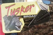 TUSKER BROADHEADS  *SPIRIT* 100g *GLUE ON * 6pack