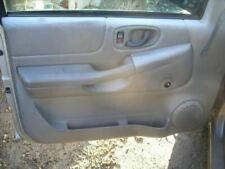 LH Left Door Trim Panel Gray Manual Window Regulators 1998 ISUZU HOMBRE CAR_RM