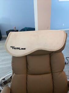 thinline gel half pad white