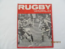 Rugby Union Magazine--Rugby World October 1969.