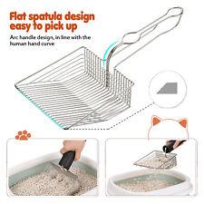 Cat Litter Scooper Deep Shovel Sifting Strainer Poo Cleaner Tool Colander 00006000  Metal