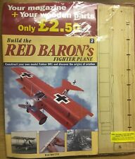 HACHETTE BUILD THE RED BARON 'S FIGHTER PLANE  FOKKER DR1 ISSUE 2  SEALED BNIB