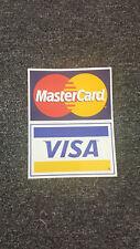 Visa / Mastercard Decal
