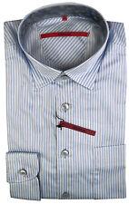 Gestreifte Signum Herren-Freizeithemden & -Shirts mit Kentkragen