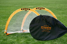 PUGG ORIGINAL 6-FOOTER POP-UP GOALS (PAIR of 2 in various colors)