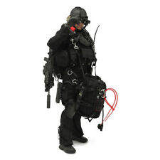 1/6 Very Hot Toys US Navy SEAL HALO Jump Equipment Set all Black No. 1003