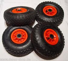4 x Rad 260/85/20 Wheel barrow wheel Handcarts Carts Luftrad 260mm 26cm