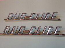 Harley CHROME Fender emblem DUO-GLIDE  oem 59195-58