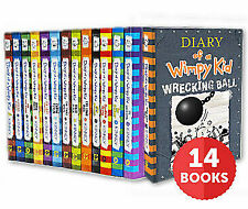Diary of a Wimpy Kid All 14 Books Collection by Jeff Kinney P.D.F