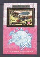 Eisenbahn, Railways, UPU, Zeppelin - Laos - Bl.64 ** MNH