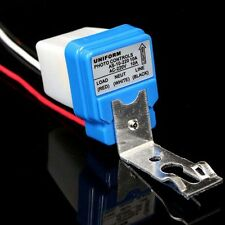 New AC DC 220V 10A Auto On/Off Photocell Road Light Photoswitch Sensor Switch