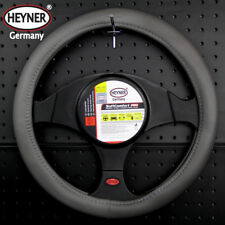 TO FIT MERCEDES A CLASS,STEERING WHEEL COVER BLACK//GREY ECO LEATHER SWC 57M i