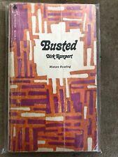 BUSTED Dirk Ramport 1970 Midwood Erotica Sex Pulp Paperback Sleaze MensAdventure