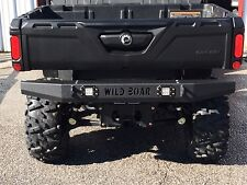 Can-am Defender HD8/HD10 Rear Bumper With L.E.D Lights All Models