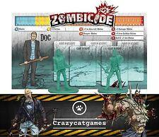 Zombicide-Doc-Kickstarter exclusivo carácter Promo (Juegos de Mesa)