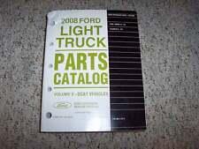 2008 Ford Taurus X Parts Catalog Manual SEL Eddie Bauer Limited AWD 3.5L V6