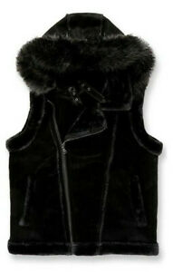 Jordan Craig Shearling Men Vest Winter Vest Black, Sunset, Red Vest