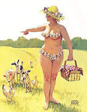 Hilda Picnic Basket all her Animals and Pets trying to follow.