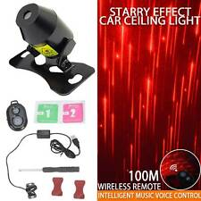 USB LED Car Interior Roof Atmosphere Star Night Light Lamp Projector Light UK