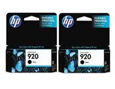 GENUINE HP 920 Black Ink Cartridge 2-Pack for Officejet 6000 6500 7000 7500