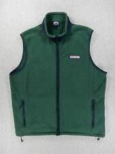 Vineyard Vines Fleece HARBOR Vest (Mens Large) Green