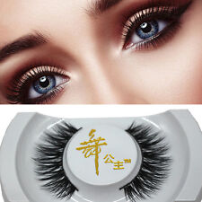Black 3D Real Mink Soft Long Natural Thick Makeup Eye.Lashes False Eyelashes  AU