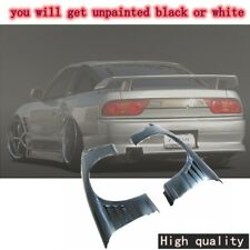 FRP FIBER GLASS G-CORPORATION TYPE-2 STYLE FRONT FENDER +30MM FOR NISSAN 180SX