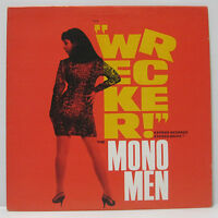 THE MONO MEN - WRECKER! LP 1992 ORIG ESTRUS GARAGE CRAMPS SEXY COVER CHEESECAKE